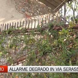 Allarme degrado in via Serassi Protestano i residenti della zona