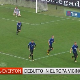 Atalanta-Everton, verso il debutto in Europa League