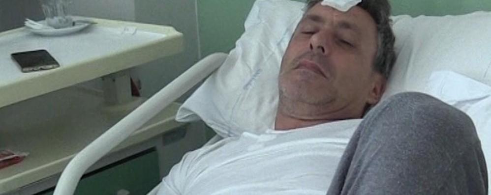 Bolgare, in ospedale l'uomo picchiato   Il sindaco: non meritiamo fatti del genere