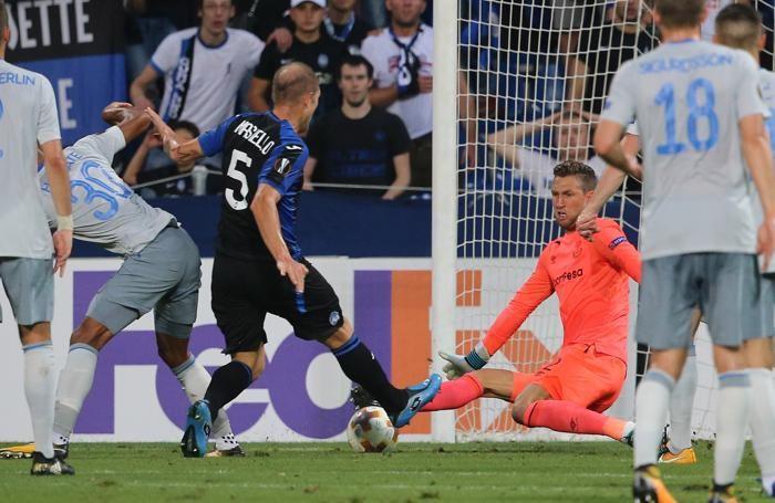 Uefa Europa League atalanta-everton occasione masiello andrea
