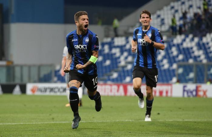 Uefa Europa League atalanta-everton dopo gol gomez alejandro 2-0