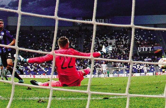 La rete di Cristante all'Everton