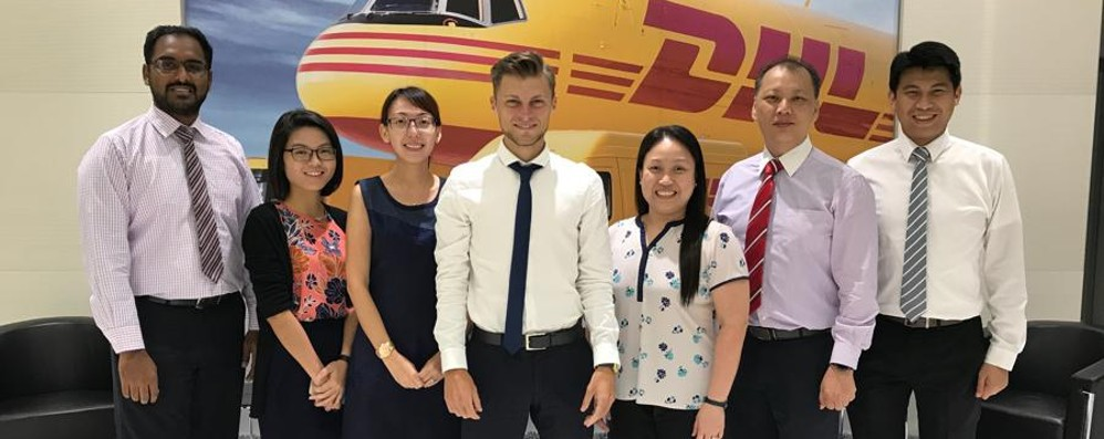 Dalla Dhl di Orio vola a Singapore