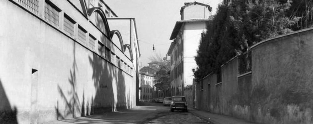 Via San Lazzaro, correva l'anno 1968 Quando il «Triangolo» era una fabbrica