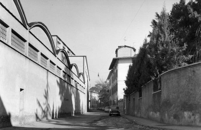 Via San Lazzaro nel 1968