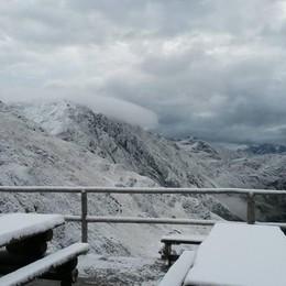Aprono le cascate del Serio - Video E in vetta alle Orobie c'è la prima neve