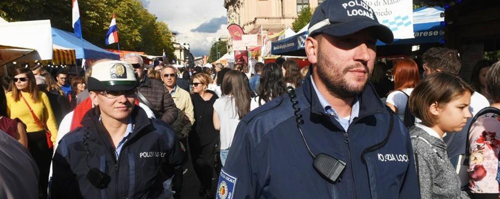 Bergamo, controlli a Mercatanti Test di sicurezza in vista del G7