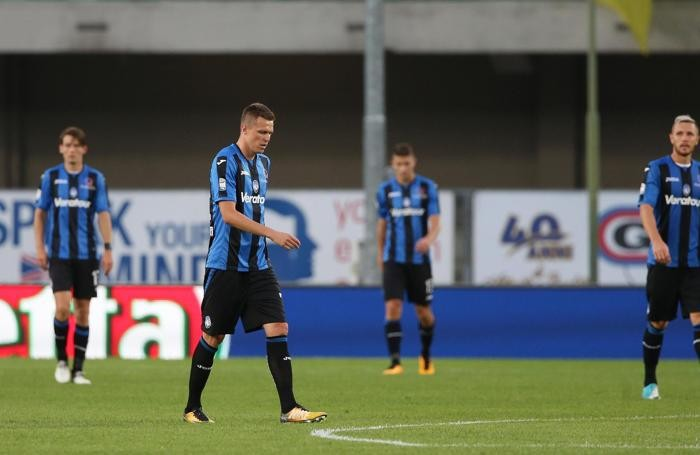 The disappointment of Atalanta's Josip Ilicic