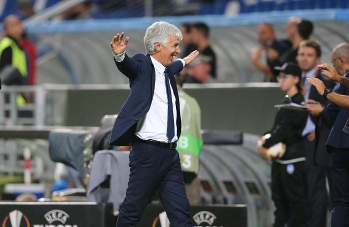 Europa League 2017-2018 - Atalanta - Everton la gioia di Gasperini