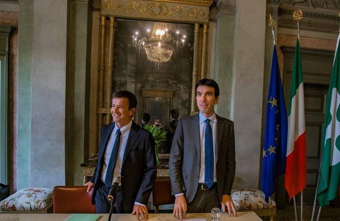 Giorgio Gori e Maurizio Martina
