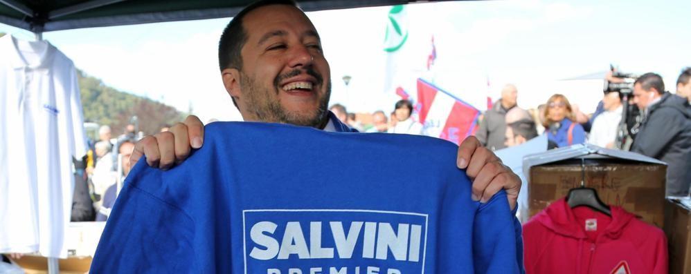 La Lega a una voce e le spine di Salvini