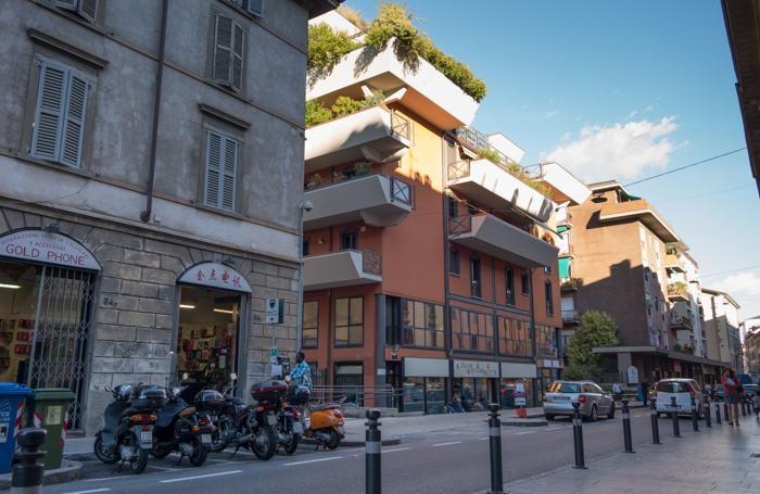 Via quarenghi a Bergamo