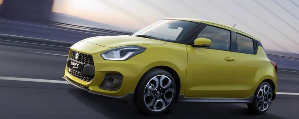 Suzuki svela Swift Sport  al Salone di Francoforte
