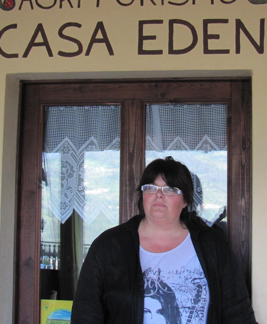 Lucia Morali, presidente Agriturismo Terra Nostra