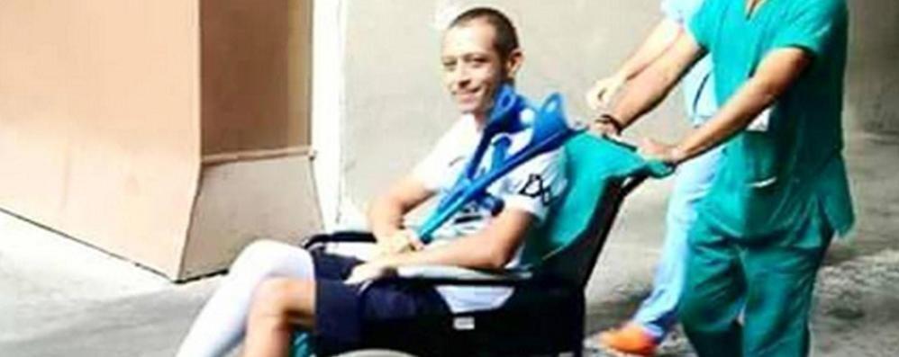 Valentino Rossi esce dall'ospedale Il rientro? Possibile in tempi brevi