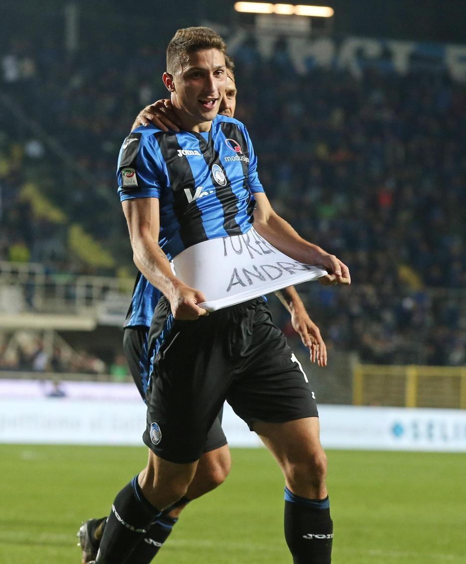 Atalanta's defender Mattia Caldara