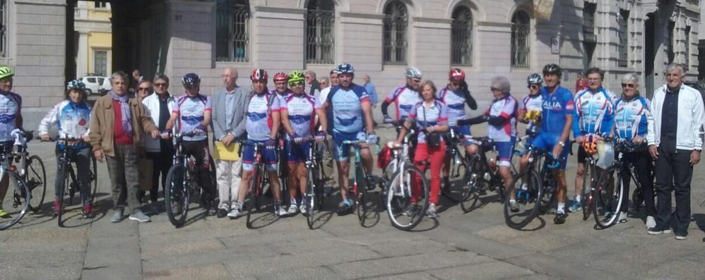 In bici per promuovere i trapianti Cinque tappe nelle zone del terremoto