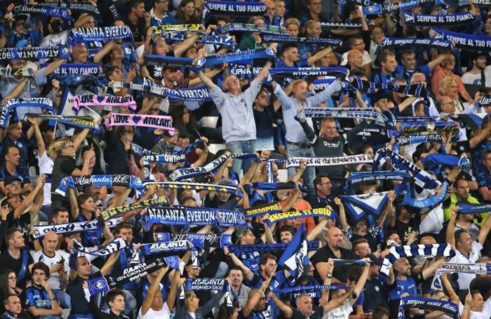 Uefa Europa League atalanta-everton tifosi