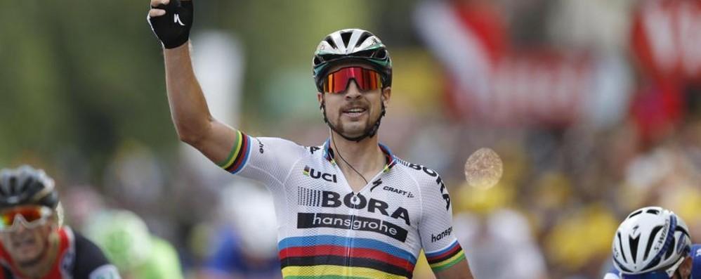 Ciclismo, le maglie del sogno mondiale  ancora made in Bergamo, firmate Santini