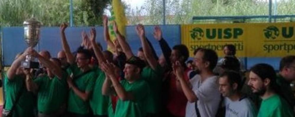 «Matti per il calcio» (e vincenti) Il «Girasole» di Treviglio fa festa