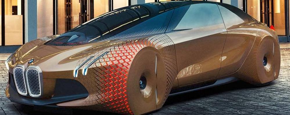 A Bergamo Scienza l'auto del futuro La fantascientifica Bmw Next 100