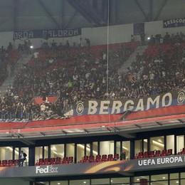 Ultras atalantini con torce a Lione Bloccati in 11, rilasciati in mattinata