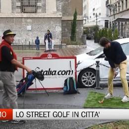 Bergamo, lo Street Golf conquista la città