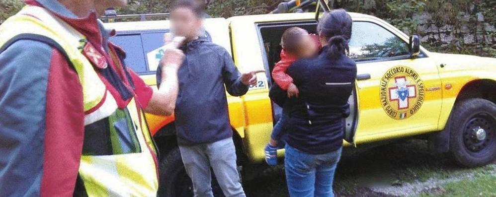 Famiglia olandese si perde in montagna Portati in salvo a Fuipiano Valle Imagna