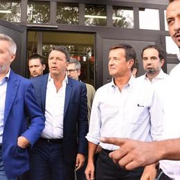 Renzi a Lodi lancia Gori «Ecco il nostro presidente»