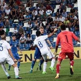 Un'Italia incolore batte Israele Immobile la trascina verso i play-off