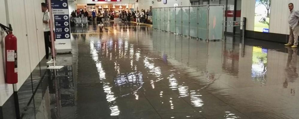 Acqua alta all'aeroporto di Orio  Enac chiama a rapporto Sacbo