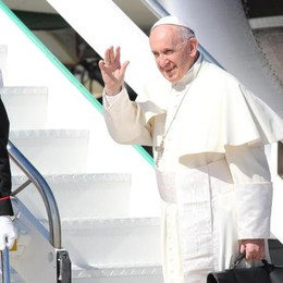 Il Papa in Colombia per costruire la pace