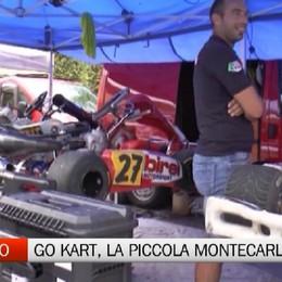 Ardesio, go-kart con La piccola Montecarlo