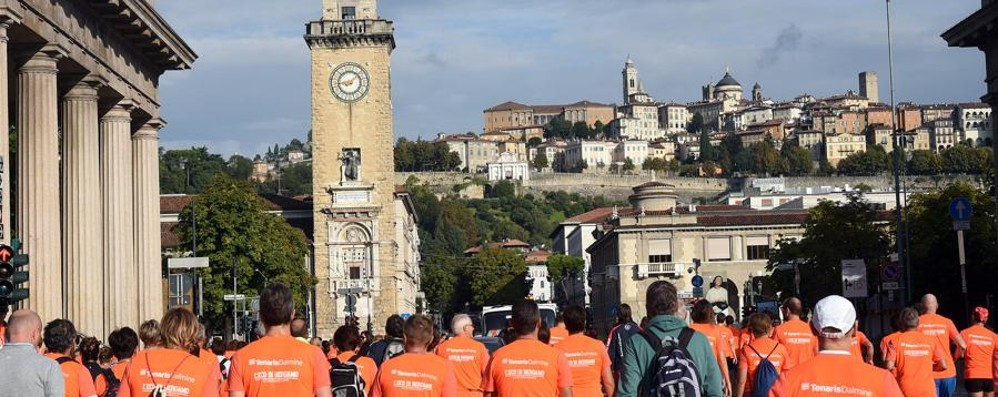 Su e giù per le scalette di Città Alta Torna la Millegradini, iscrizioni online