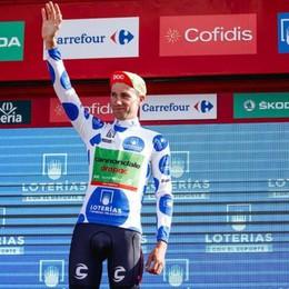 Un bergamasco tra Froome e Contador Villella è il re degli scalatori alla Vuelta