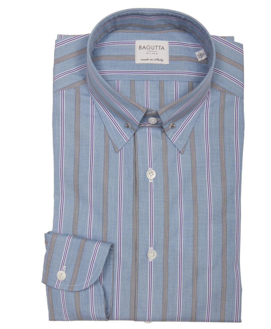 Una camicia Bagutta che sarà presentata al Pitti