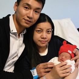 Jialin, la prima nata in provincia è cinese Il parto all'ospedale di Treviglio alle 00,19