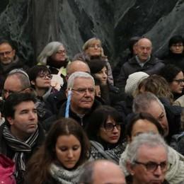 Marcia della Pace, mille a Sotto il Monte «Il Papa ci dice di accogliere e integrare»