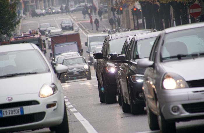 Traffico per lo smog