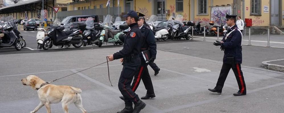 Bergamo, spaccio in stazione Un arresto e due denunce