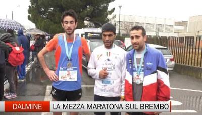 Palamini vince la Mezza Maratona sul Brembo