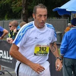 Impiegato col vizio della corsa Lorenzo, in dieci anni 70 maratone