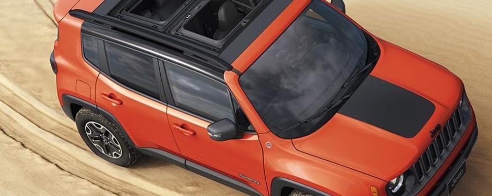 Nuova Jeep Renegade servizi multimediali a bordo