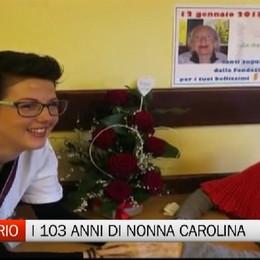 Auguri! Carolina compie 103 anni Memoria storica della Val di Scalve