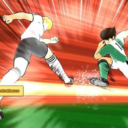 Captain Tsubasa Dream Team Holly e Benji giocano su smartphone