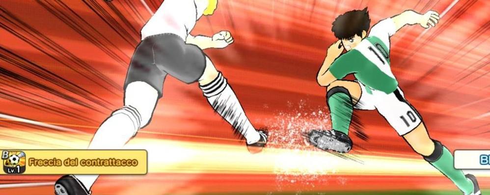 Captain Tsubasa Dream Team Holly e Benji giocano su smartphone