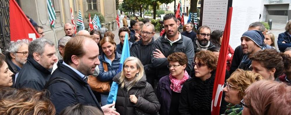 Contratto dei dipendenti provinciali 305 ricorsi dei lavoratori bergamaschi