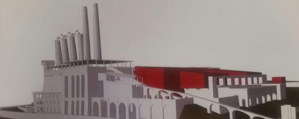 Così rinascerà l'ex cementificio - Foto Fabbrica d'impresa ad Alzano Lombardo