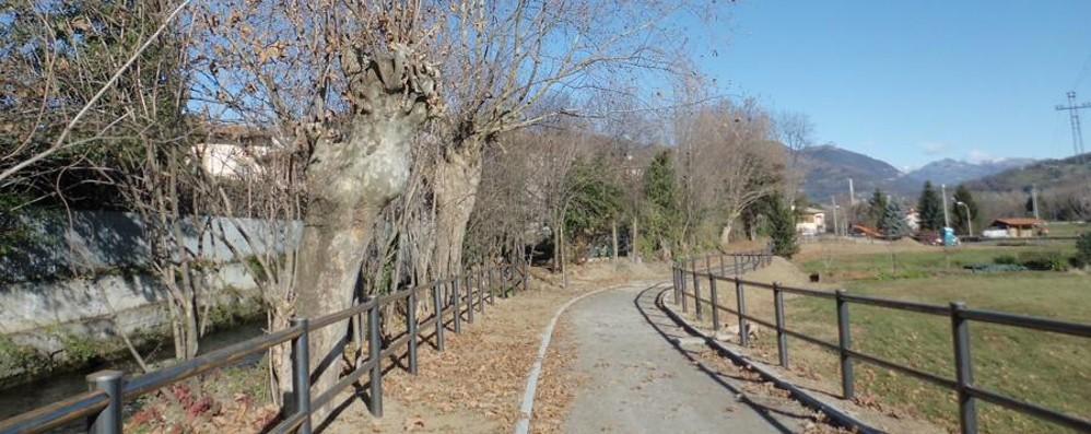 Da Bergamo a Clusone in bici Ora è possibile, nuovo tratto a Ranica