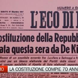 La Costituzione Italiana compie 70 anni
